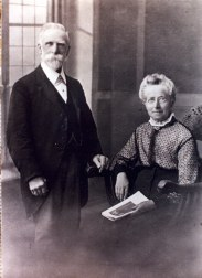 Stanley Clark and his wife Agnes nee Farr Parents of Percy John Clark Photo taken May 1919 (My great grandparents)