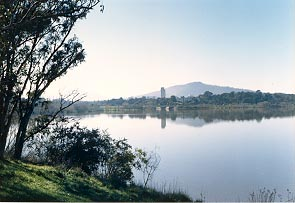 Looking Across Lake Burley Griffith.